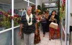 Inauguration des nouveaux locaux des Affaires sociales à Punaauia