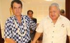 Fritch s'entretient avec le Premier ministre des Samoa
