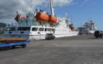 Le Tahiti Nui 1 a pris la direction des Australes ce mardi après-midi