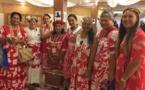 Une délégation de Polynésiennes à la Conférence des femmes du Pacifique