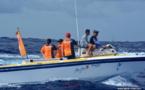 """Les secouristes de la course Hawaiki Nui Va'a : """"Nous transportons un véritable hôpital avec nous"""""""