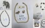 Grande vente aux enchères de perles et de bijoux