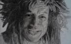 Portrait: Bobby Holcomb par B-art-Mike Tahiti