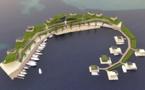 L'île flottante sera-t-elle financée en bitcoins ?