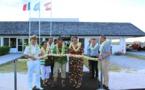 Rangiroa : le nouveau parking d'aviation de l'aéroport inauguré