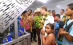 Au cœur de l'usine de transformation agroalimentaire de Hiva Oa