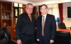 Le ministre de la Culture rencontre le nouveau Consul de Chine