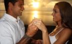 Michel Bourez demande Vaimiti Laurens en mariage
