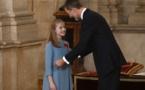 Espagne : à 12 ans, la fille aînée de Felipe VI honorée comme héritière du trône