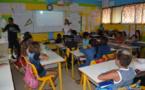 Aire marine éducative : rencontre entre des biologistes marins et des élèves de CM2 à Mahina