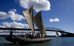 Destination Polynésie : les quatre « Vaka » prêts à appareiller d'Auckland