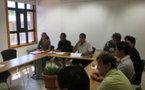 """Teva Rohfritsch rencontre l'association """"Papeete Centre ville"""""""