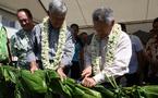 Gaston Tong Sang a inauguré aujourd'hui les journées de la pêche et de l'aquaculture