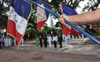 Cérémonie organisée à l'occasion de la Journée nationale du souvenir des victimes et héros de la déportation. 25 avril 2010