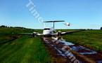 Atterrissage mouvementé à Fidji pour un petit avion médicalisé de Nouvelle-Calédonie