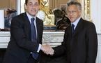 La réponse du président Nicolas Sarkozy concernant la demande du gouvernement de renouveler l'assemblée de la Polynésie française avant le terme de son mandat.
