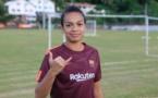 Foot féminin - Rani Perry : Son équipe est première du championnat