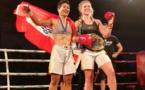 "Boxe Thaï - Knees of Fury NZ : Anna Yon Yue Chong "" Je n'étais pas au point """