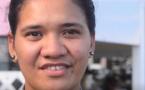 Océane Teriipaia, prétendante au titre de meilleur pâtissier de Polynésie