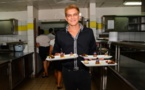 Thomas Malijenovsky, prétendant au titre de meilleur pâtissier de Polynésie
