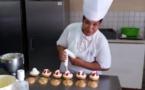 Marutea Riaria, prétendante au titre de meilleur pâtissier de Polynésie
