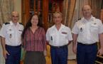 CSEC: Visite de courtoisie du Général VECHAMBRE