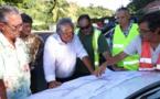 Luc Faatau fait le point sur les chantiers à Papeete