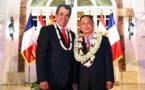 Ordre de Tahiti Nui : Wang Cheng élevé au rang de Commandeur