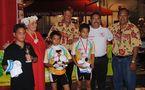 « Dernière étape du 17ème Tour de l'amitié à Papeete »