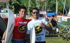 Taumata Puhetini remporte les trials des Air Tahiti Nui Von Zipper