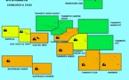 Fortes houles : les Australes, les Tuamotu et la Société en vigilance orange