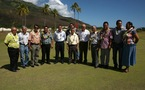 Le gouvernement soutient le développement économique et logistique de Moorea