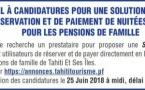 Appel à candidatures pour une solution digitale de réservation et de paiement de nuitées en ligne pour les pensions de famille