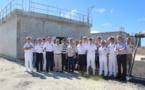 Le système de surveillance géomécanique rénové et modernisé à Moruroa