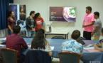 Les jeunes du Tahiti Code Camp démontrent leur talent
