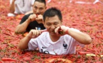 Chine : il avale 50 piments en une minute