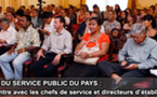 Chantier de Refonte du Service Public du Pays: Enclenchement de la phase opératoire
