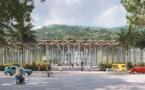 Le visage du centre culturel de Paofai