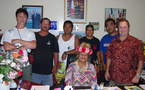 Opération pilote sur l'atoll de Hao: Rencontre de la mission IFREMER et du navire « Fleur Australe »
