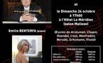 Musique En Polynésie  accueille Bernard SOUSTROT, trompette et  Emilie BENTERFA, piano    pour deux  concerts