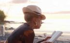 Lady Gaga en vacances au Brando