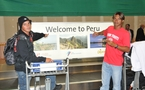 SURF: Championnat du Monde Open / Séniors 2010 la séléction tahitienne est arrivée au Perou