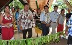 Inauguration de l'exposition artisanale des îles Australes