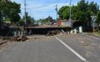 La circulation sur le pont de Matatia modifiée
