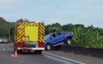Deux voitures accidentées et un blessé à Punaauia