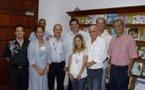 Echanges pédagogiques fructueux entre le CRDP de Polynésie française et le Centre de Documentation Pédagogique (CDP) de N-C
