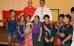 67 enfants de Pirae ont reçu leurs cartables