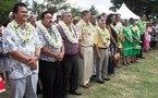 Ouverture du festival de la jeunesse à la Marina de Puunui à Toahtu