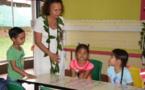 Christelle Lehartel part à la rencontre des enfants de Faa'a
