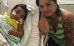 Un bébé hospitalisé après avoir respiré trop de fumées